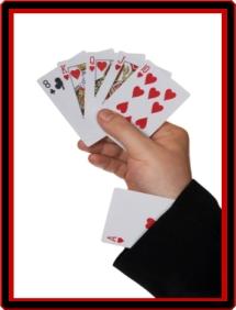 Zaubertricks Karten